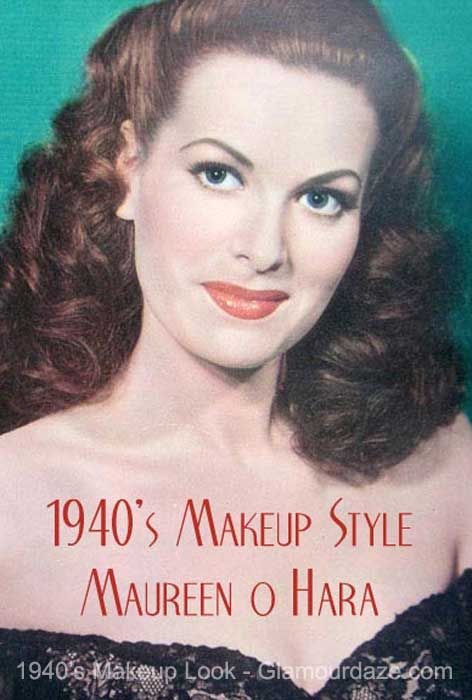 The History of 1940s Makeup - 1940 to 1949 | Glamour Daze | 1940s .