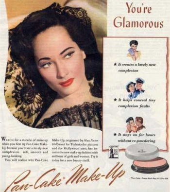 Authentic 1940s Makeup History and Tutori