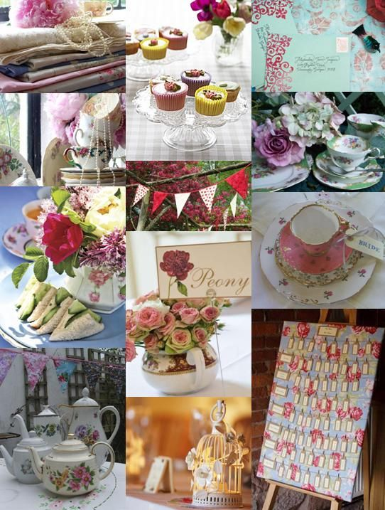 Amazing Favorite English Garden Party Ideas
