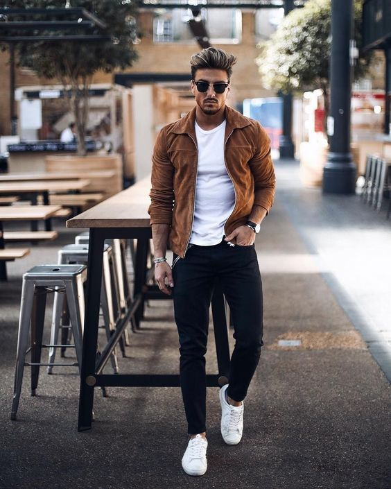 30 Stunning Spring Outfits Ideas for Men in 2020 | Fall outfits .