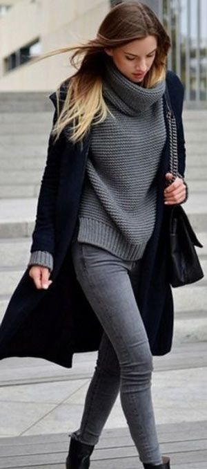 40+ Simple and Classy Winter Outfit ideas 2019 for ladies .