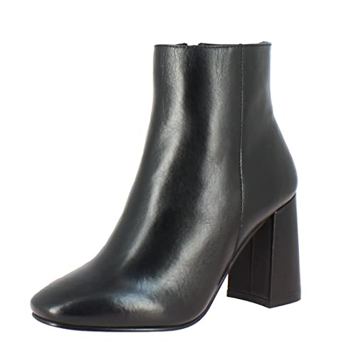 Buy Saint G Womens Black Napa Leather Ankle Boots, Block Heel .
