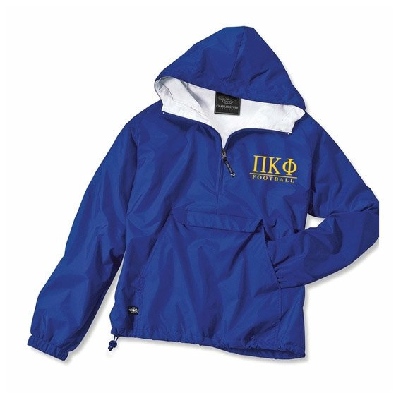 Custom Anorak with Greek Letters - GreekGear.c