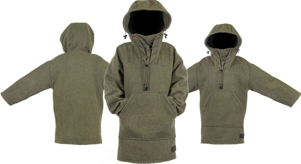 "Boreal Mountain Wool Anorak - ""The Rough"" 