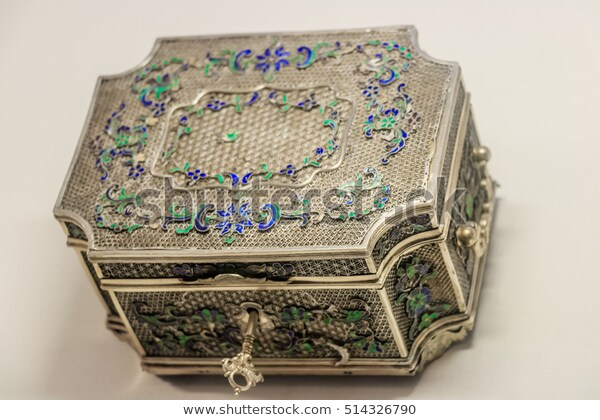 Antique Jewelery Box Stock Photo (Edit Now) 5143267