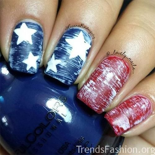 10+ Awesome 4th of July Acrylic Nail Art Designs & Ideas 2019 .