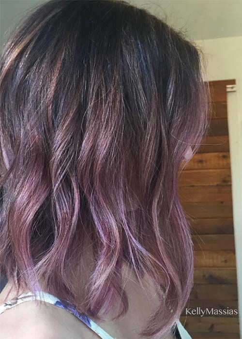 Awesome Trendy Mauve Hair Color in 20