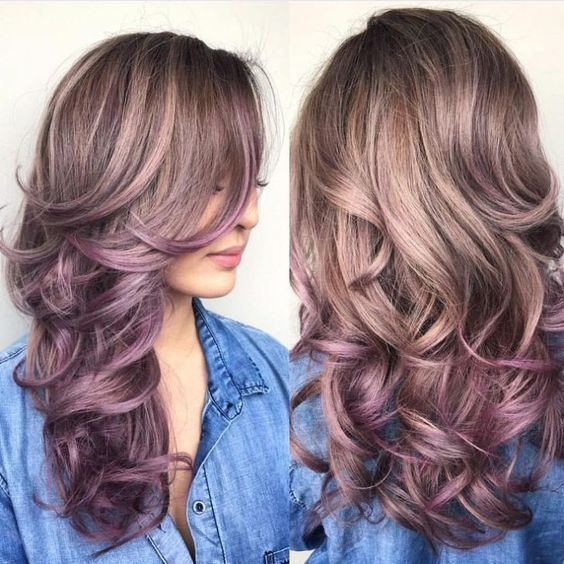 15 Awesome Trendy Mauve Hair Color 2018 For Great Appearance (mit .