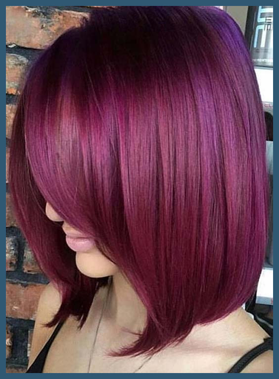 Plum Hair Colors 52858 Awesome Trendy Mauve Hair Color - Tutoria