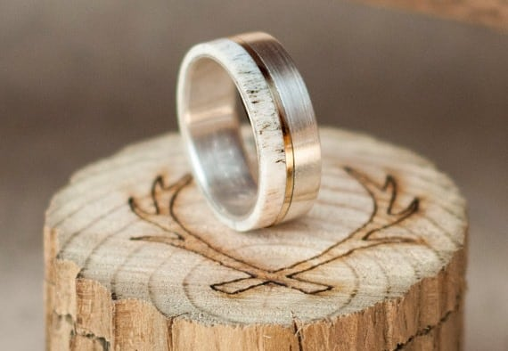52 Stylish + Unique Mens Wedding Bands for 20