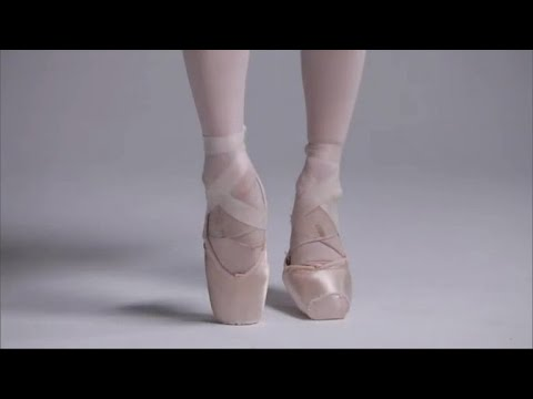 "Nutcracker"" ballerinas' most important accessory: Pointe shoes ."