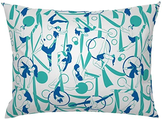 Amazon.com: Roostery Pillow Sham, Dancer Dancers Ballerinas Ladies .