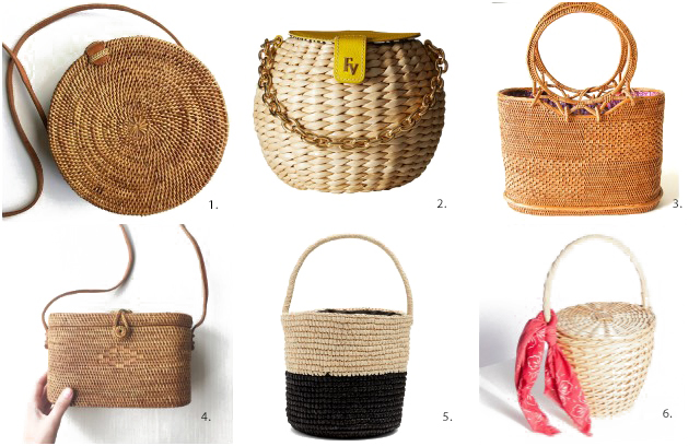 Sydne Style shows the best straw basket bags online for affordable .