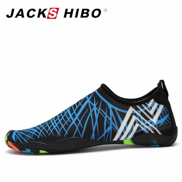 JACKSHIBO Summer Women Men Water Shoes Bathing Shoes Unisex .