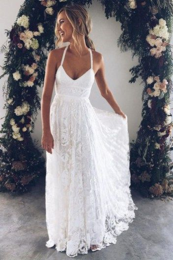 Beautiful Beach Wedding Dresses To Inspire You 05   Wedding gowns .