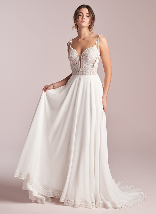 Beach Wedding Dresses and Gowns   Maggie Sotte