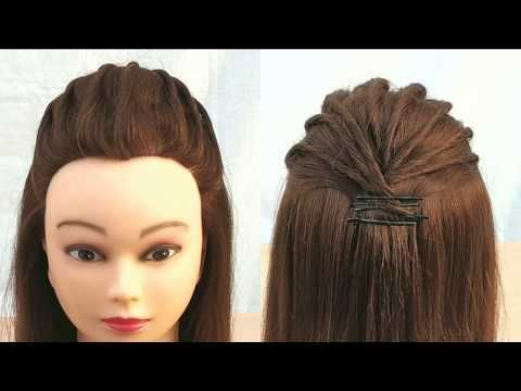 Most Beautiful Hairstyle for open hairstyle:party wedding || Easy .