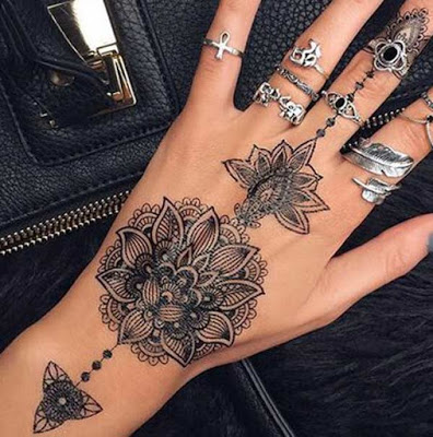 30 Best and Beautiful Henna Tattoo Designs idea for Women - Ftw Bl