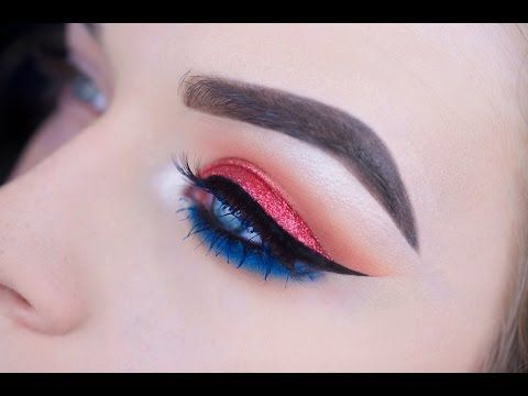 Beautiful Makeup for Fourth of July
