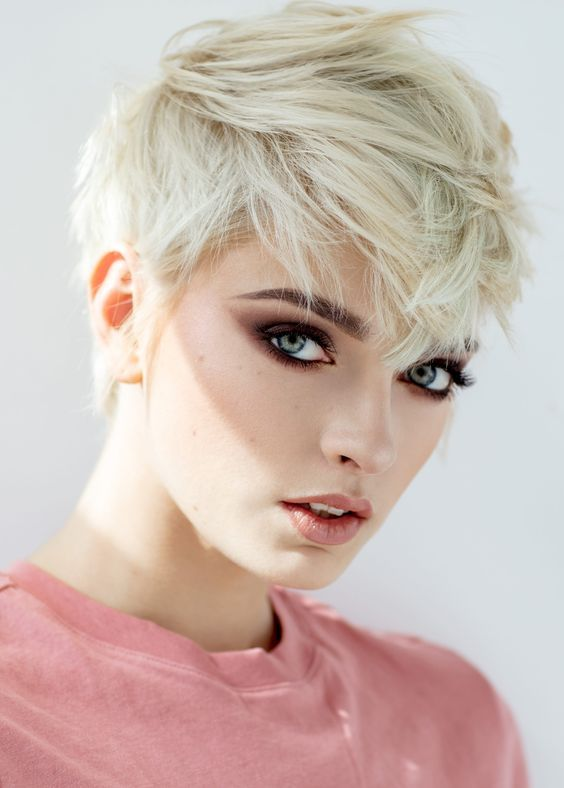 The Most Beautiful Pixie Hairstyles for Short Hair 2019 - Page 14 .
