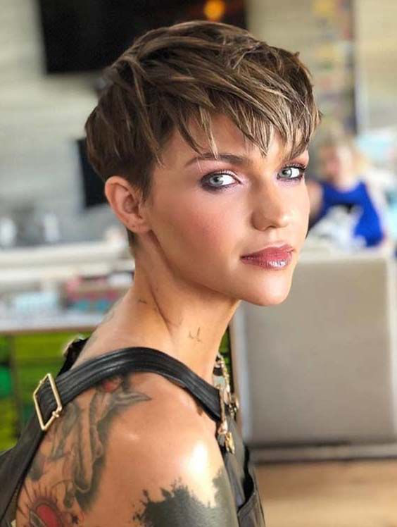 The Most Beautiful Pixie Hairstyles for Short Hair 2019 - Fashion .
