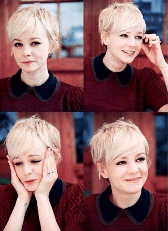 Beautiful Pixie Haircuts /Celebrities and Their Look | Donne con i .
