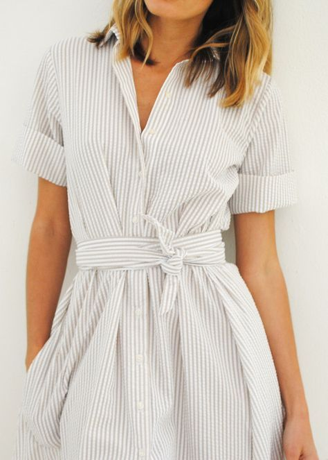 50+ Beauty Shirtdresses Style Inspirations | Business kleidung .