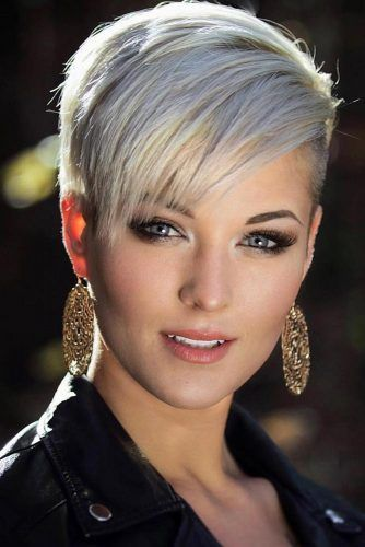 Beauty Women With Pixie Cuts