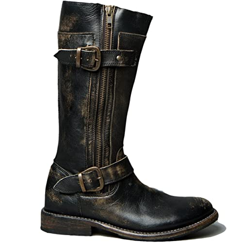 Amazon.com | Bed|Stu Women's Gogo Leather Boot (6.5 B(M) US, Black .