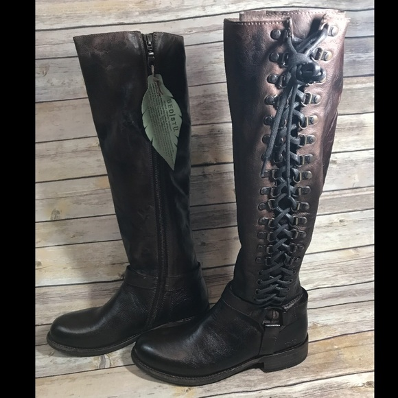 Bed Stu Shoes | Sz 8 Burnley Tall Women Boots | Poshma