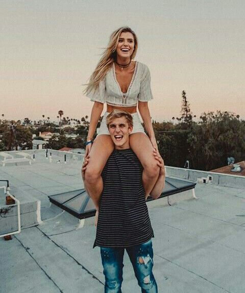 Alissa Violet and Jake Paul | Cute couples, Cute couple pictures .