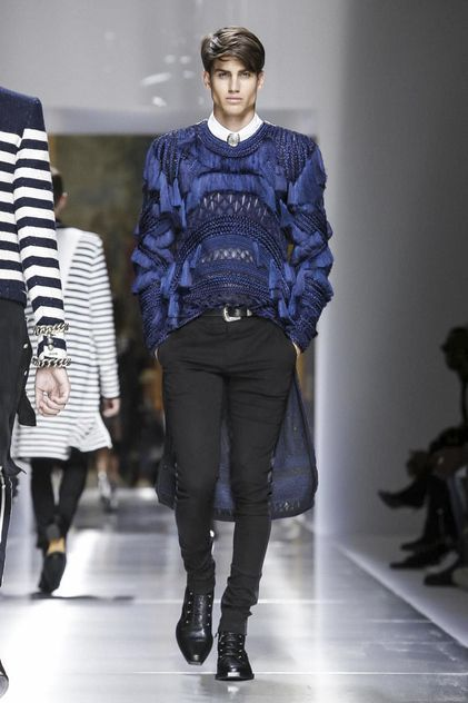 Best Balmain Menswear Spring Summer