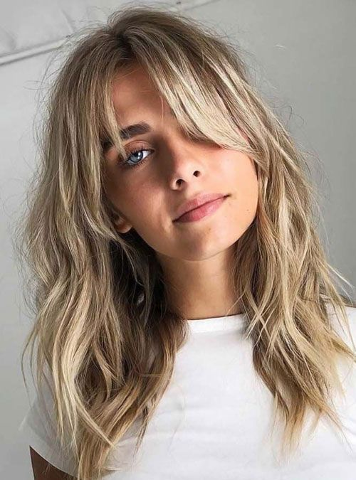 27 Best Long Hair with Bangs Hairstyles (2020 Guide) in 2020 .
