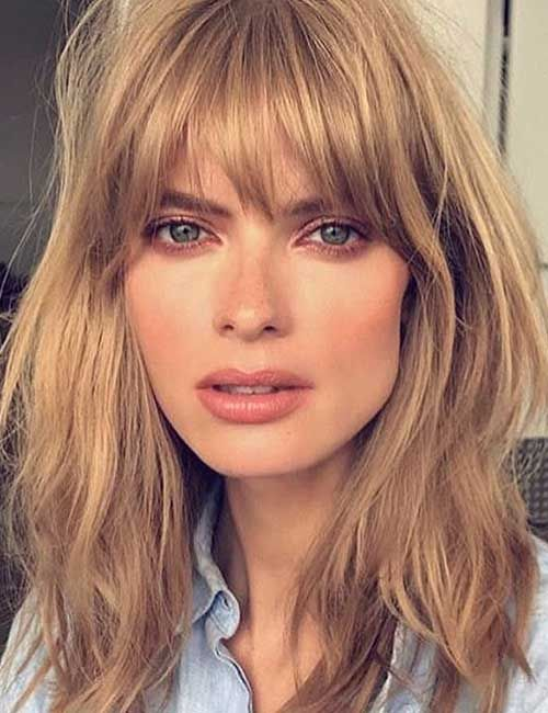 Best BangsHairstyles | Long hair with bangs, Short hair with bangs .