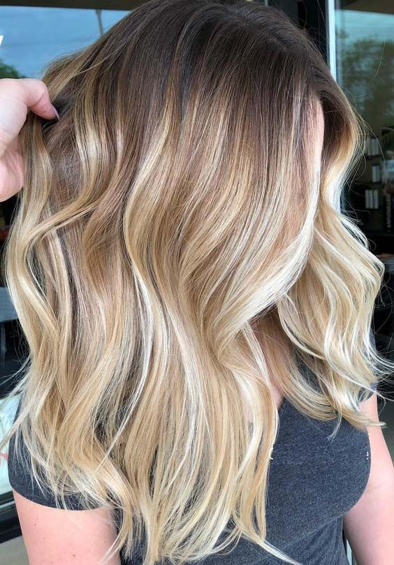 55 Amazing Rooted Blonde Balayage Hair Highlights for 2018 .