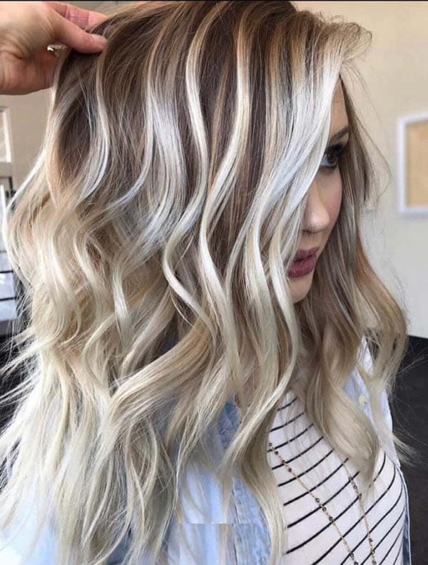 Best Vanilla Blonde Balayage Hair Color Shades to Show Off in 2020 .