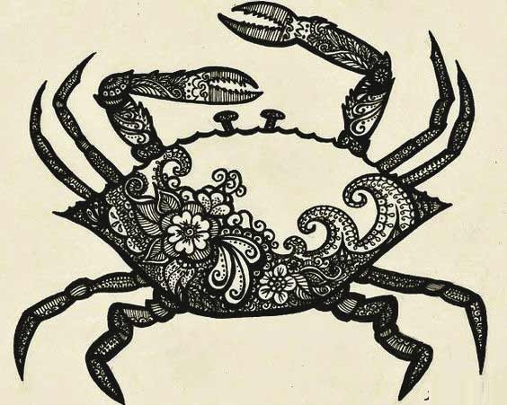 50 Best Cancer Tattoos Designs and Ideas For Zodiac Si