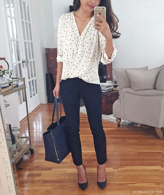 13 Perfect Casual Work Outfit Ideas - Pretty Designs   Casual work .