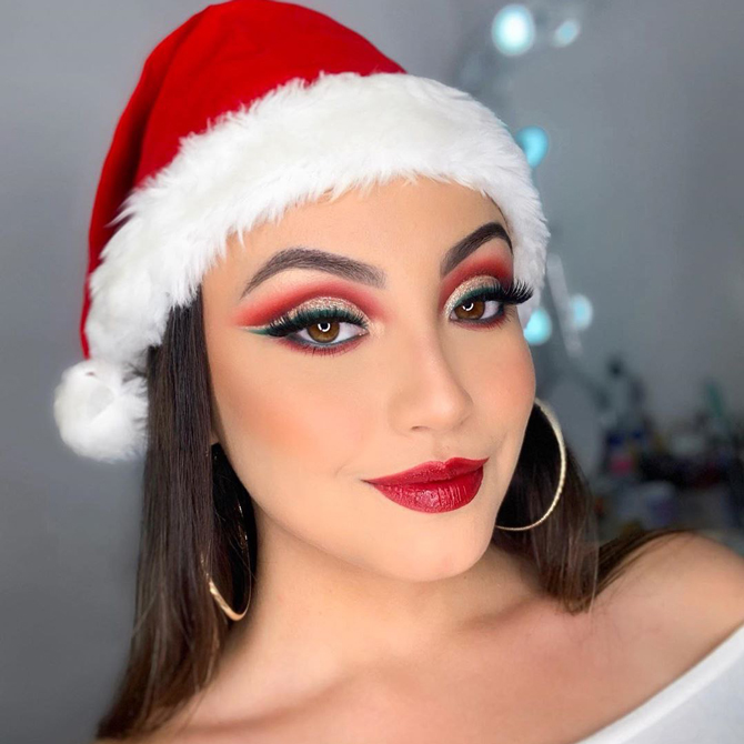 Best festive makeup ideas from our favourite celebrities and .