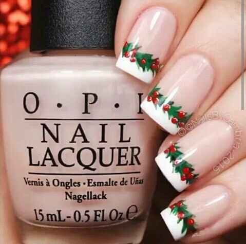 Nails Inspiration: Best of Christmas on We Heart