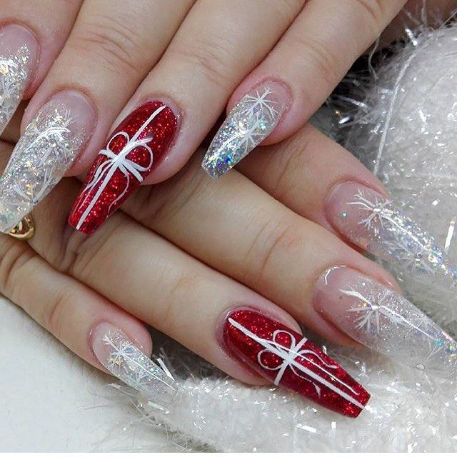 """✨Nail Inspiration ✨ on Instagram: """"❄️❄️❄️ By ."""