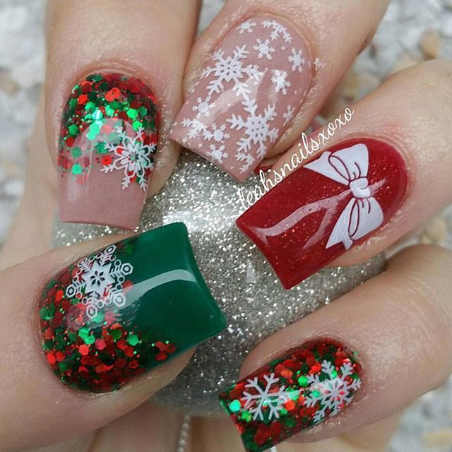 Sublime 21 Best Christmas Nails Acrylic Ideas The aforementioned .