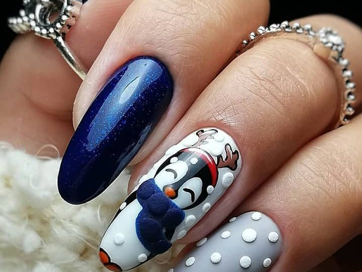 Best Christmas Nail Design and Acrylic Ideas | Top Fashion Ne