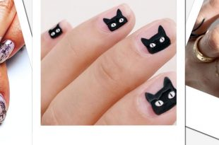 30 DIY Halloween Nail Art Ideas - Best Nail Designs and Manicure .