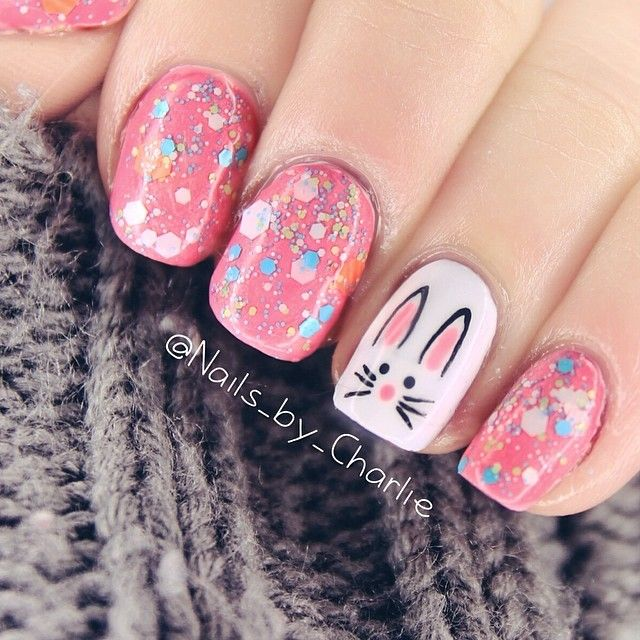 15 Cute Easter Bunny Nail Art Ideas – Best Simple Home DIY .