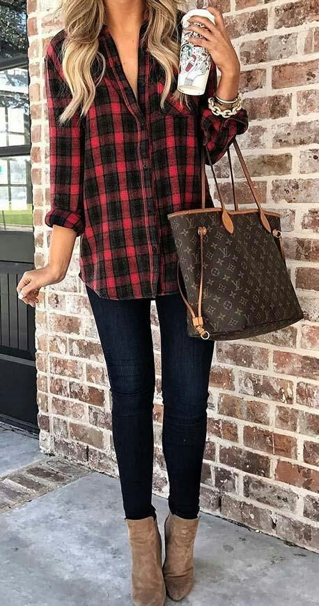 Best Fall Outfits 2018/2019 top women,s fashion | Casual fall .
