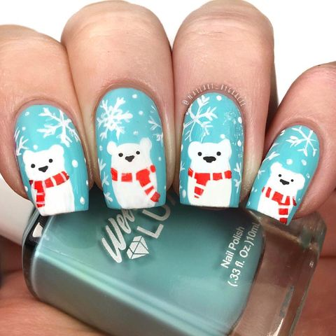 45 Festive Christmas Nail Art Ideas - Easy Designs for Holiday Nai