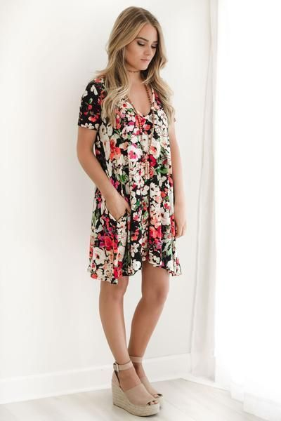 Best Floral dresses Inspirations in 2020 | Dresses, Fashion .