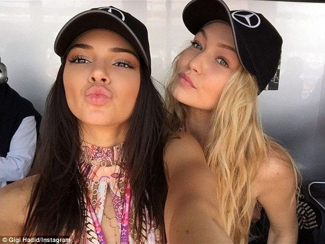 25 Best Gigi Hadid and Kendall Jenner Cutest Pictures | Gigi hadid .