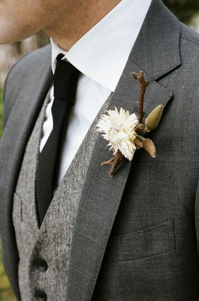 10 Best Grey Wedding Suits Ideas-Earthy wedding inspiration .